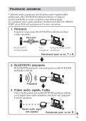 Sony TDM-BT1 - TDM-BT1 Consignes d'utilisation Slovaque - Page 5
