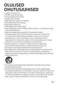 Sony CLM-FHD5 - CLM-FHD5 Consignes d'utilisation Estonien - Page 3