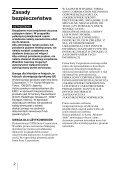 Sony MRW62E-S2 - MRW62E-S2 Mode d'emploi Polonais - Page 2