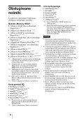 Sony MRW62E-S2 - MRW62E-S2 Mode d'emploi Polonais - Page 6
