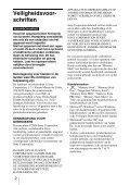 Sony MRW62E-S2 - MRW62E-S2 Mode d'emploi Néerlandais - Page 2