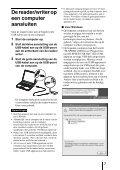 Sony MRW62E-S2 - MRW62E-S2 Mode d'emploi Néerlandais - Page 7