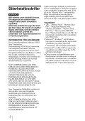 Sony MRW-EA7 - MRW-EA7 Mode d'emploi Suédois - Page 2
