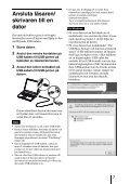 Sony MRW-EA7 - MRW-EA7 Mode d'emploi Suédois - Page 7