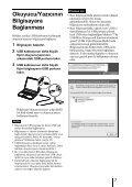 Sony MRW-EA7 - MRW-EA7 Mode d'emploi Turc - Page 7