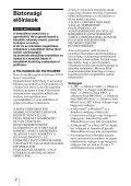Sony MRW-EA7 - MRW-EA7 Mode d'emploi Hongrois - Page 2