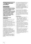 Sony MRW-EA7 - MRW-EA7 Mode d'emploi Néerlandais - Page 2