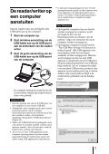 Sony MRW-EA7 - MRW-EA7 Mode d'emploi Néerlandais - Page 7