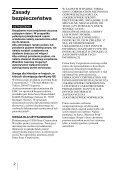 Sony MRW68E-D1 - MRW68E-D1 Mode d'emploi Polonais - Page 2