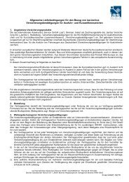 Allgemeine Lieferbedingungen für den Bezug von ias/Janitos