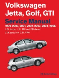 Bentley Volkswagen.Golf.Jetta.R32.Official.Factory.Repair.Manual.1999-2005