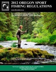 2012 OregOn SPOrT FISHIng regulaTIOnS - Oregon Department of ...