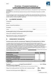 Antrag E&O-09-2009 - IAS Internationale Assekuranz-Service GmbH