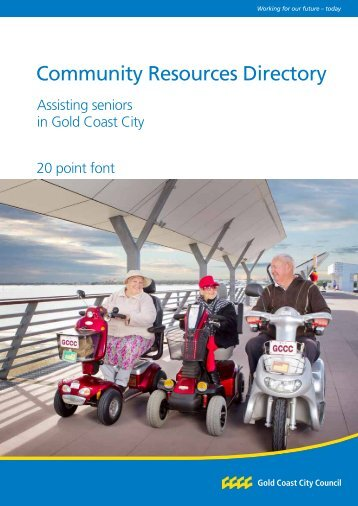The Community Resources Directory – Assisting seniors in Gold ...