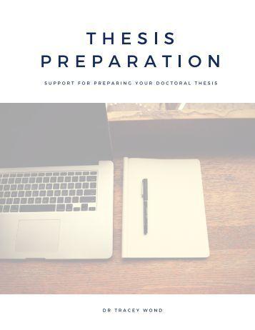 Thesis Preparation