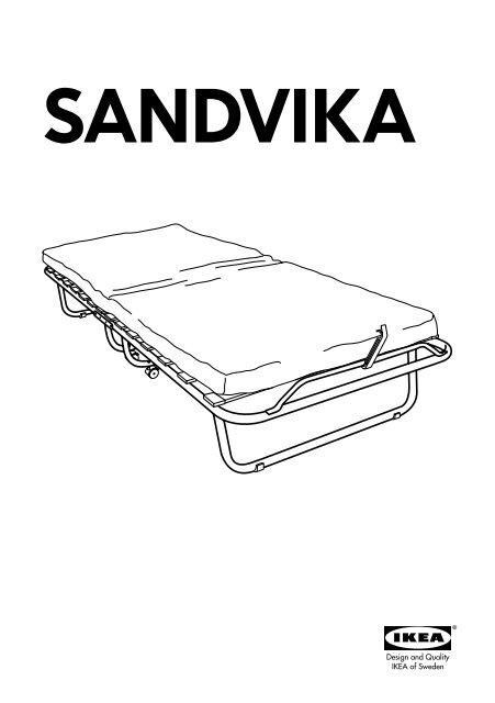Ikea Brandina Pieghevole.Ikea Sandvika Brandina 80017389 Istruzioni Montaggio Pdf