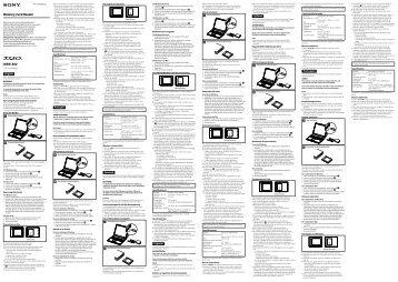 Sony MRW-E80 - MRW-E80 Mode d'emploi Slovaque