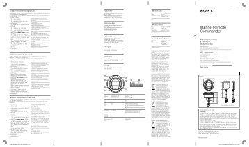Sony RM-X60M - RM-X60M Mode d'emploi Danois