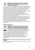 Sony TDG-BR100 - TDG-BR100 Mode d'emploi Serbe - Page 3