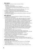Sony TDG-BR100 - TDG-BR100 Mode d'emploi Serbe - Page 4