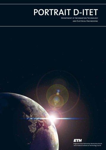 Brochure 'Portrait D-ITET' (PDF) - ETH - D-ITET