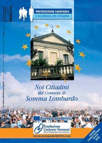 Via Milano, 84 Tel. 0331 256613 21019 Somma ... - Noi cittadini