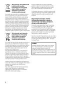 Sony RM-VLZ620T - RM-VLZ620T Mode d'emploi Serbe - Page 2