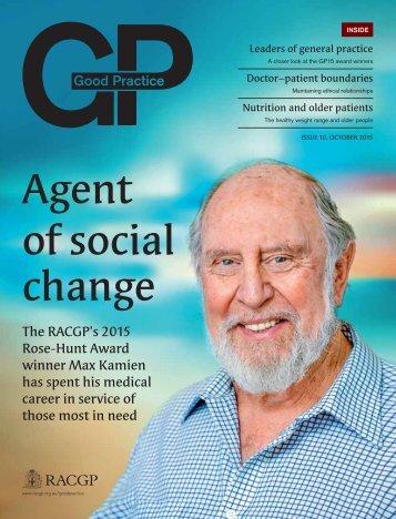 Agent of social change