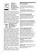 Sony RM-VL1400T - RM-VL1400T Mode d'emploi Roumain - Page 2