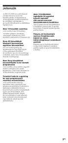 Sony RM-VL1400T - RM-VL1400T Consignes d'utilisation Hongrois - Page 3