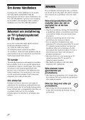 Sony WS-32SE1B - WS-32SE1B Consignes d'utilisation Norvégien - Page 2