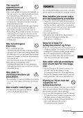 Sony WS-32SE1B - WS-32SE1B Consignes d'utilisation Norvégien - Page 3