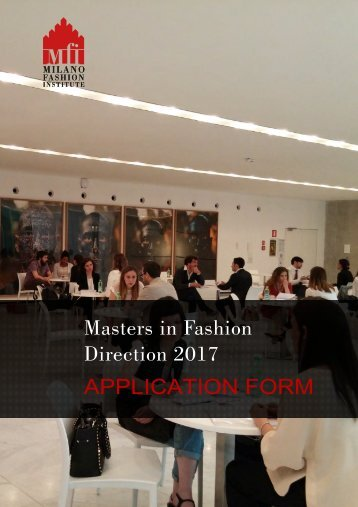 Masters in Fashion Direction 2017