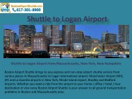 Shuttle to Logan Airport ppt