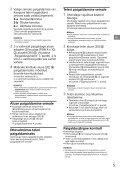 Sony SU-WL450 - SU-WL450 Mode d'emploi Letton - Page 5