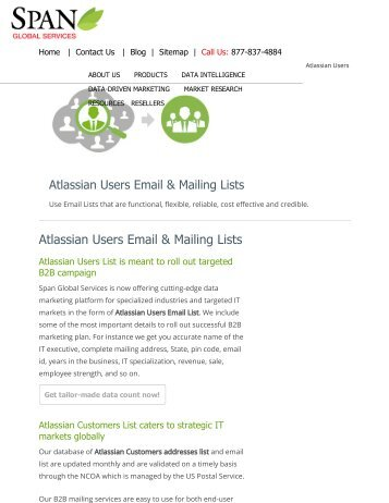 Purchase Atalssian using companies in USA from Span Global Services