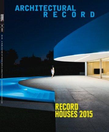 Architectural Record 2015-04