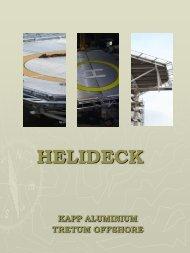 HELIDECK Presentation - Kapp Aluminium