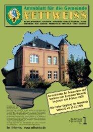 Januar 2009 - Gemeinde Vettweiss