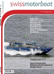 Interboot vom 18 – 26. September 2010 - Swiss Motor Boat