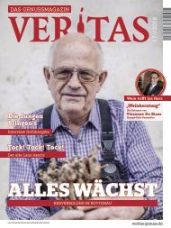 VERITAS - Das Genussmagazin / Ausgabe - 17-2016