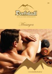 Hotel Dorfstadl Wellnessfolder 2016