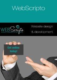 WebScripto Brochure
