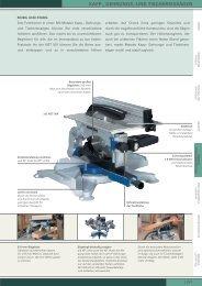 kapp-, gehrungs- und tischkreissägen - Werkzeugfachhandel