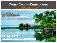 Kerala Tour—Kumarakom - HolidayKeys.co.uk