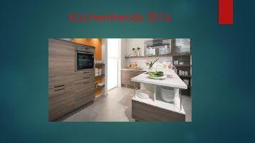 Küchentrends 2016