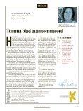 I Dina Skor vägen till melodifestivalen Kulturskolan i Halmstad - Page 2