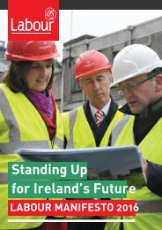 Standing Up for Ireland's Future