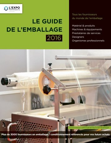 Guide de l'Emballage 2016