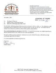 2013 ASB Spring Sports and Addendum to add - Kennewick School ...
